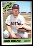 1966 Topps #394  Ron Brand  Front Thumbnail