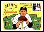 1971 Fleer World Series #34   1936 Yankees / Giants  Front Thumbnail