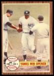 1962 Topps #232   -  Bill Skowron 1961 World Series - Game #1 - Yanks Win Opener Front Thumbnail