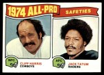 1975 Topps #223   -  Cliff Harris / Jack Tatum  All-Pro Safeties Front Thumbnail