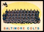 1959 Topps #17   Colts Team Checklist Front Thumbnail