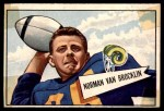 1952 Bowman Large #1  Norm Van Brocklin  Front Thumbnail
