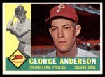 1960 Topps #34  Sparky Anderson  Front Thumbnail