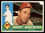 1960 Topps #285  Harry Anderson  Front Thumbnail