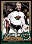 2008 O-Pee-Chee #27  Niklas Backstrom   Front Thumbnail