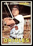 1967 Topps #405  Russ Snyder  Front Thumbnail