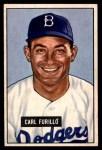 1951 Bowman #81  Carl Furillo  Front Thumbnail