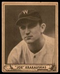 1940 Play Ball #188  Joe Krakaukas  Front Thumbnail