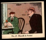 1931 Johnson Candy Dick Tracy R41 #25   Mucelli is Fooled Front Thumbnail