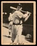 1939 Play Ball #109  Myril Hoag  Front Thumbnail