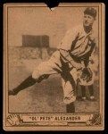 1940 Play Ball #119  Grover Alexander  Front Thumbnail