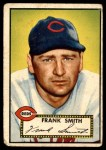 1952 Topps #179 CRM Frank Smith  Front Thumbnail