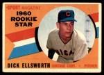 1960 Topps #125   -  Dick Ellsworth Rookie Star Front Thumbnail