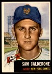1953 Topps #260  Sammy Calderone  Front Thumbnail