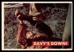 1956 Topps Davy Crockett Green Back #36   Davy's Down!  Front Thumbnail