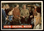 1956 Topps Davy Crockett #44   You're Cheating Front Thumbnail