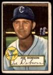 1952 Topps #254  Joe Dobson  Front Thumbnail