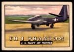 1952 Topps Wings #60   FH-1 Phantom Front Thumbnail