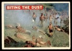 1956 Topps Davy Crockett #15   Biting the Dust  Front Thumbnail