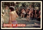 1956 Topps Davy Crockett #9   Dance of Death  Front Thumbnail