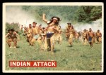 1956 Topps Davy Crockett #14   Indian Attack  Front Thumbnail