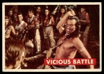 1956 Topps Davy Crockett Green Back #29   Vicious Battle  Front Thumbnail