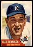 1953 Topps #141  Allie Reynolds  Front Thumbnail