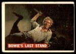 1956 Topps Davy Crockett #80   Bowie's Last Stand  Front Thumbnail