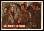 1956 Topps Davy Crockett #57   -     No Relief in Sight  Front Thumbnail