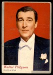 1953 Topps Who-Z-At Star #50  Walter Pidgeon  Front Thumbnail
