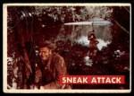 1956 Topps Davy Crockett Green Back #26   Sneak Attack  Front Thumbnail