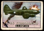 1952 Topps Wings #37   C-46 Commando Front Thumbnail