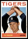 1964 Topps #491  Ed Rakow  Front Thumbnail