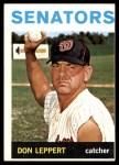 1964 Topps #463  Don Leppert  Front Thumbnail