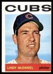 1964 Topps #510  Lindy McDaniel  Front Thumbnail