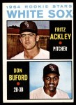 1964 Topps #368   -  Don Buford / Fritz Ackley White Sox Rookies Front Thumbnail