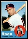 1963 Topps #167  Jim Fregosi  Front Thumbnail