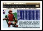 1996 Topps #394  Benito Santiago  Back Thumbnail