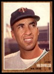 1962 Topps #339  Jose Valdivielso  Front Thumbnail