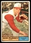 1961 Topps #9  Bob Purkey  Front Thumbnail