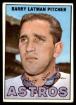 1967 Topps #28  Barry Latman  Front Thumbnail