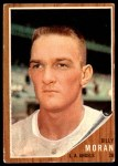 1962 Topps #539  Billy Moran  Front Thumbnail