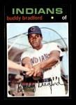 1971 Topps #552  Buddy Bradford  Front Thumbnail