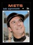 1971 Topps #469  Bob Aspromonte  Front Thumbnail