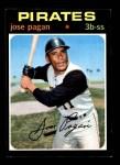 1971 Topps #282  Jose Pagan  Front Thumbnail