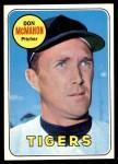 1969 Topps #616  Don McMahon  Front Thumbnail
