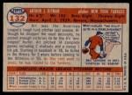 1957 Topps #132  Art Ditmar  Back Thumbnail