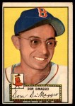 1952 Topps #22  Dom DiMaggio  Front Thumbnail