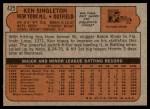 1972 Topps #425  Ken Singleton  Back Thumbnail