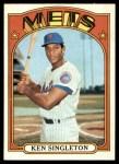 1972 Topps #425  Ken Singleton  Front Thumbnail